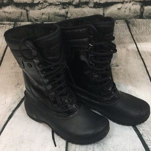 EUC The North Face waterproof boots
